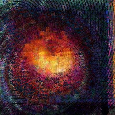Artwork NFT 1<br/>M87 Black Hole Deconstruction #6