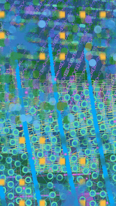 Artwork NFT 6<br/>Surfacing Water Lilies I