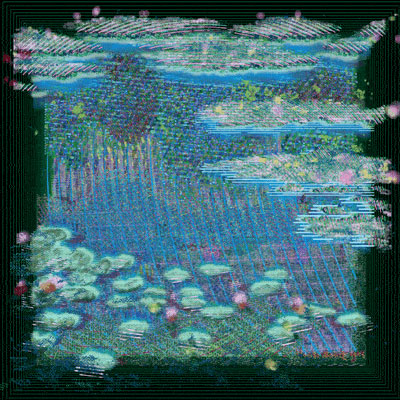 Artwork NFT 11<br/>Surfacing Water Lilies IV