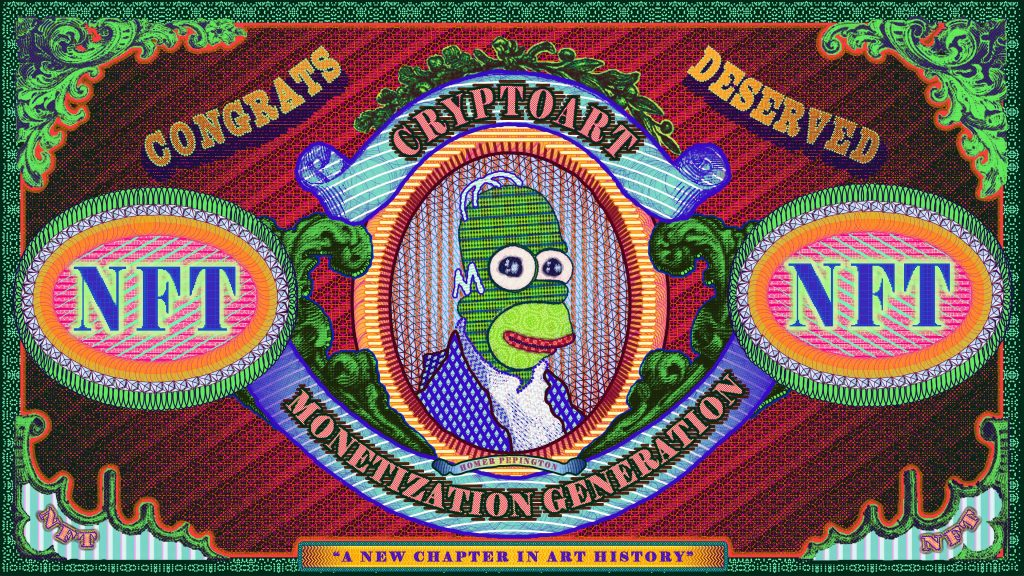 Artwork NFT 33<br/>CRYPTOART MONETIZATION GENERATION